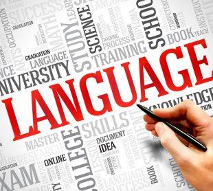 تعليم اللغة