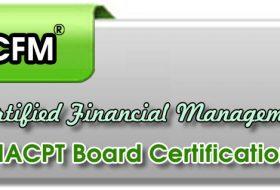 نبذه عن  شهادة المدير المالي المعتمد CFM